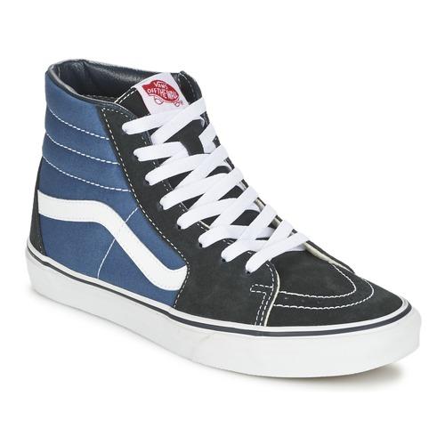 Pantofi Pantofi sport stil gheata Vans SK8-HI Albastru / Negru