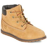Pantofi Copii Ghete Timberland POKEY PINE 6IN BOOT WITH Galben-grâu