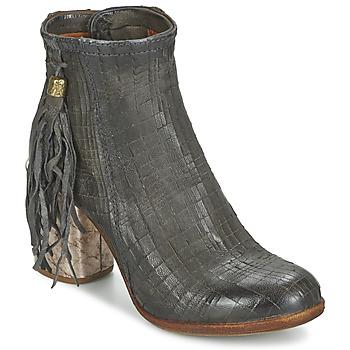 Pantofi Femei Botine Airstep / A.S.98 ODELL Negru / Smoke
