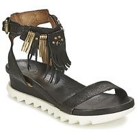 Pantofi Femei Sandale și Sandale cu talpă  joasă Airstep / A.S.98 FLOOD Negru
