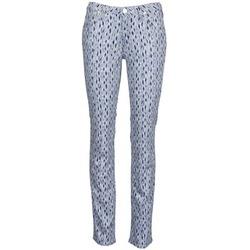 Îmbracaminte Femei Jeans drepti Lee MARION STRAIGHT Imprimeuri / Albastru