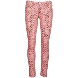 Îmbracaminte Femei Jeans slim Lee SCARLETT Roșu / Portocaliu