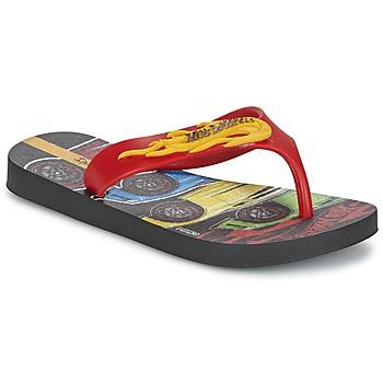 Încăltăminte Băieți  Flip-Flops Ipanema HOT WHEELS TYRE Roșu / Negru
