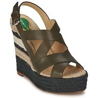 Încăltăminte Femei Sandale și Sandale cu talpă  joasă Etro 3948 Maro