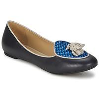 Pantofi Femei Balerin și Balerini cu curea Etro 3922 Albastru