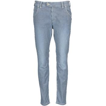 Îmbracaminte Femei Jeans drepti Marc O'Polo LAUREL Albastru / Alb