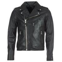 Îmbracaminte Bărbați Jachete din piele și material sintetic Schott LEVOQ Negru