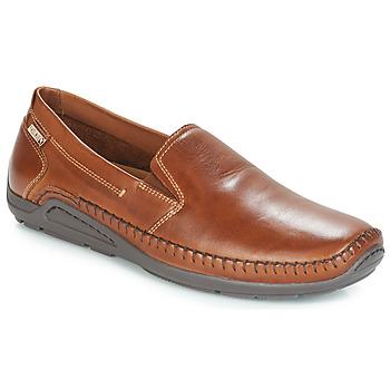 Pantofi Bărbați Mocasini Pikolinos AZORES Maro