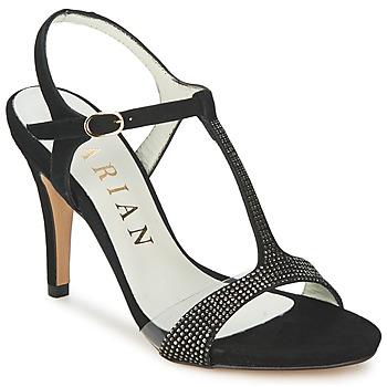 Pantofi Femei Sandale și Sandale cu talpă  joasă Marian ANTE FINO Negru