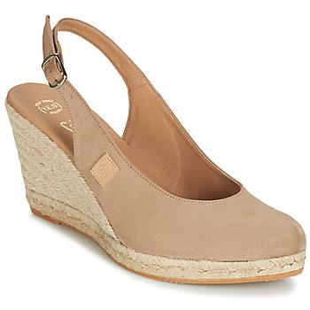 Pantofi Femei Sandale și Sandale cu talpă  joasă Betty London TECHNO Bej