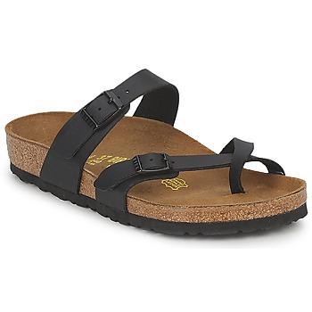 Pantofi Femei Papuci de vară Birkenstock MAYARI Negru