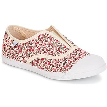 Pantofi Fete Pantofi sport Casual Citrouille et Compagnie RIVIALELLE Ecru / Multicolor