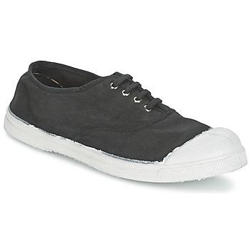 Pantofi Femei Pantofi sport Casual Bensimon TENNIS LACET Carbone