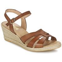 Pantofi Femei Sandale și Sandale cu talpă  joasă So Size ELIZA Maro