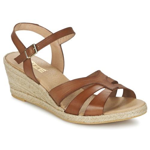 Pantofi Femei Sandale  So Size ELIZA Maro