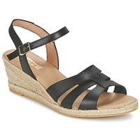 Pantofi Femei Sandale și Sandale cu talpă  joasă So Size ELIZA Negru
