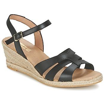 Pantofi Femei Sandale  So Size ELIZA Negru