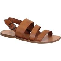 Pantofi Bărbați Sandale  Gianluca - L'artigiano Del Cuoio 507 U CUOIO CUOIO Cuoio