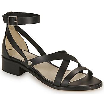 Pantofi Femei Sandale și Sandale cu talpă  joasă Casual Attitude COUTIL Negru