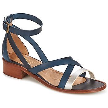 Pantofi Femei Sandale și Sandale cu talpă  joasă Casual Attitude COUTIL Albastru