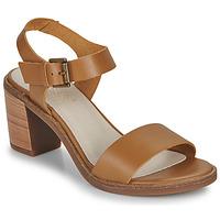 Pantofi Femei Sandale și Sandale cu talpă  joasă Casual Attitude CAILLE Camel