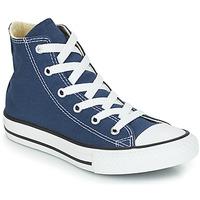 Pantofi Copii Pantofi sport stil gheata Converse CHUCK TAYLOR ALL STAR CORE HI Bleumarin