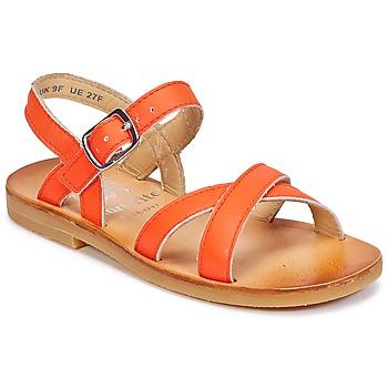 Pantofi Fete Sandale și Sandale cu talpă  joasă Start Rite NICE II Portocaliu