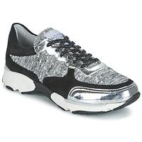 Încăltăminte Femei Pantofi sport Casual Meline AMAL Negru / Alb / Gri