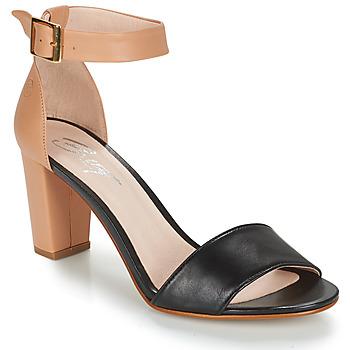 Pantofi Femei Sandale  Betty London CRETOLIA Nude / Negru