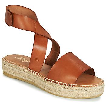 Pantofi Femei Sandale și Sandale cu talpă  joasă Betty London EBALUIE Camel