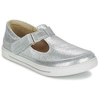 Pantofi Fete Balerin și Balerini cu curea Birkenstock ABILENE Argintiu