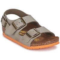 Pantofi Băieți Sandale  Birkenstock MILANO Taupe