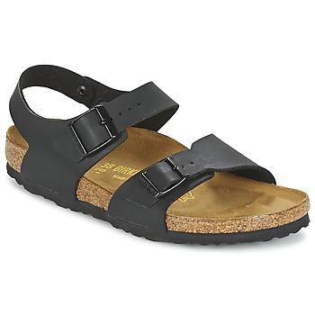Pantofi Copii Sandale  Birkenstock NEW YORK Negru