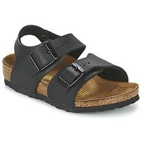 Pantofi Băieți Sandale  Birkenstock NEW YORK Negru