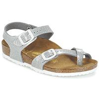 Încăltăminte Fete Sandale și Sandale cu talpă  joasă Birkenstock TAORMINA Argintiu