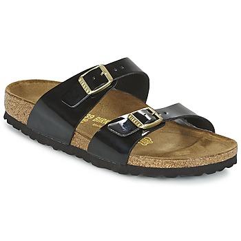 Pantofi Femei Papuci de vară Birkenstock SYDNEY Negru / Lac