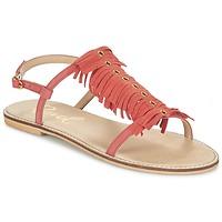 Pantofi Femei Sandale și Sandale cu talpă  joasă Ravel LEXINGTON Corai