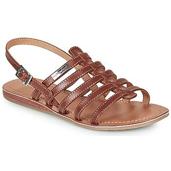 Pantofi Femei Sandale și Sandale cu talpă  joasă Les Tropéziennes par M Belarbi HAVAPO Tan
