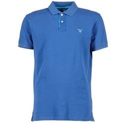 Îmbracaminte Bărbați Tricou Polo mânecă scurtă Gant CONTRAST COLLAR PIQUE Albastru