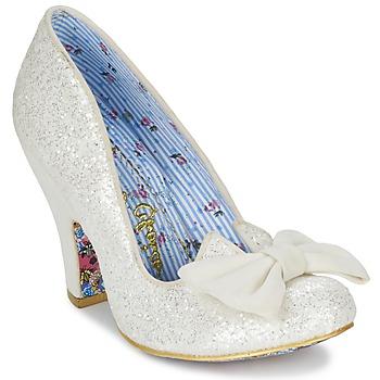 Încăltăminte Femei Pantofi cu toc Irregular Choice NICK OF TIME Alb / Paiete