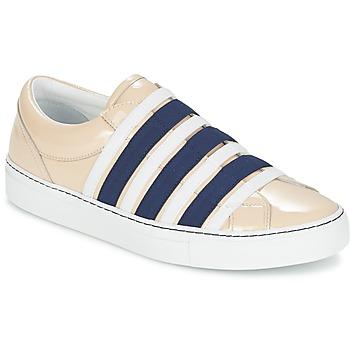 Pantofi Femei Pantofi Slip on Sonia Rykiel SONIA BY - SLIPPINETTE Bej / Bleumarin
