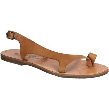 Pantofi Bărbați Sandale  Gianluca - L'artigiano Del Cuoio 526 D CUOIO GOMMA Cuoio