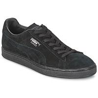 Pantofi Pantofi sport Casual Puma SUEDE CLASSIC + Negru / Gri