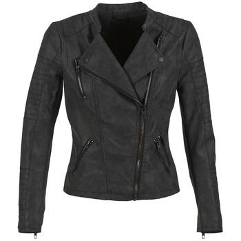 Îmbracaminte Femei Jachete din piele și material sintetic Only AVA Negru