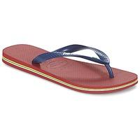 Pantofi  Flip-Flops Havaianas BRASIL LOGO Bleumarin / Roșu