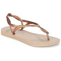 Pantofi Femei  Flip-Flops Havaianas LUNA Bronz