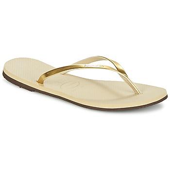 Pantofi Femei  Flip-Flops Havaianas YOU METALLIC Auriu