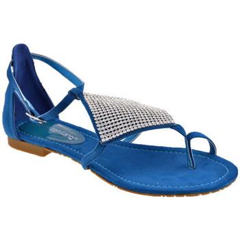 Pantofi Femei  Flip-Flops F. Milano  albastru