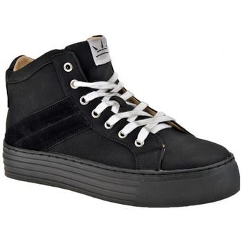 Pantofi Femei Pantofi sport stil gheata F. Milano  Negru