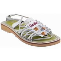 Pantofi Copii Sandale  Barbie  Alb